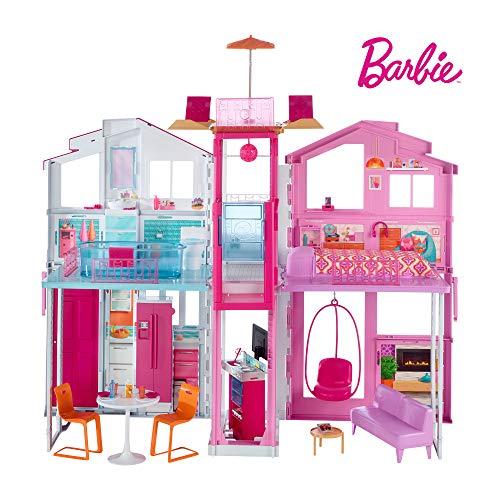 Barbie Mobilier Grande Maison de poupée de Luxe (DLY32)