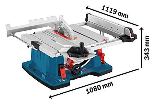 Bosch GTS 10 XC Professional Scie sur table