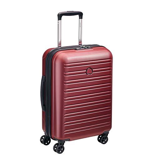 DELSEY PARIS SEGUR 2.0 Valise,55 cm,36,3 litres,Rouge (cabine slim ( 55 cm - 36,30 L))