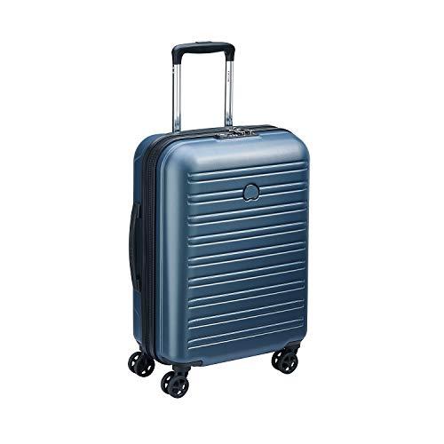 DELSEY PARIS SEGUR 2.0 Valise,55 cm,36,3 litres,Bleu (cabine slim ( 55 cm - 36,30 L))