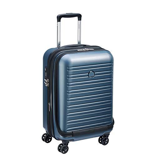 DELSEY PARIS SEGUR 2.0 Valise,55 cm,42,9 litres,Bleu (S ( 55 cm - 51,50 L))