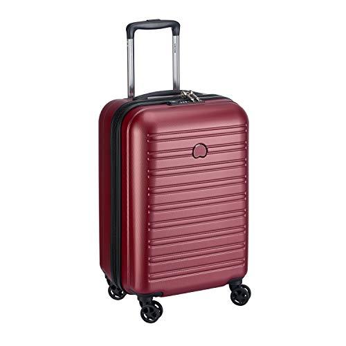 DELSEY PARIS SEGUR 2.0 Valise,55 cm,42,9 litres,Rouge (S ( 55 cm - 43 L))