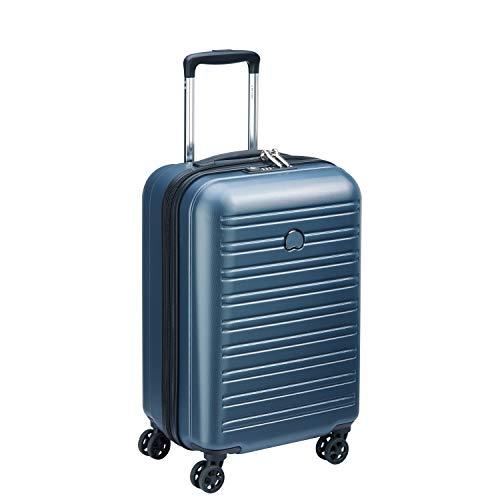 DELSEY PARIS SEGUR 2.0 Valise,55 cm,42,9 litres,Bleu (S ( 55 cm - 43 L))
