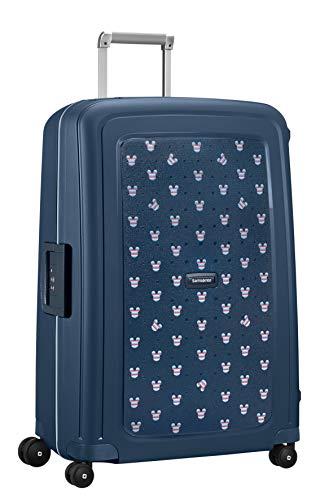 Samsonite S'Cure Disney Spinner Suitcase,75 cm,102 L,Bleu (Mickey Summer Navy)