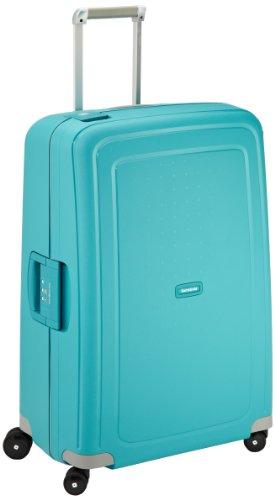 Samsonite S'Cure - Spinner L Valise,75 cm,102 L,Bleu (Aqua Blue)
