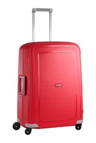 Samsonite S'Cure - Spinner M Valise,69 cm,79 L,Rouge (Crimson Red)