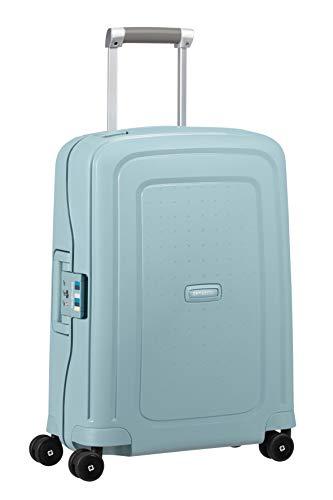 Samsonite S'Cure - Spinner S Bagage à main,55 cm,34 L,Bleu (Stone Blue Stripes)