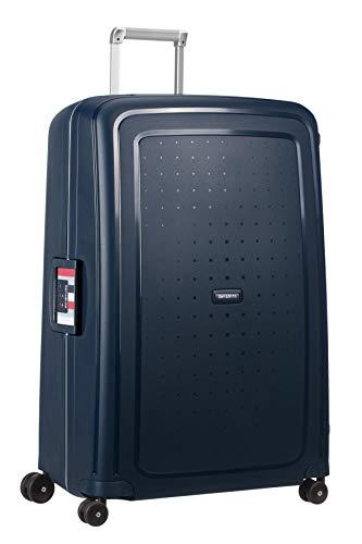 Samsonite S'Cure - Spinner XL Valise,81 cm,138 L,Bleu (Navy Blue Stripes)