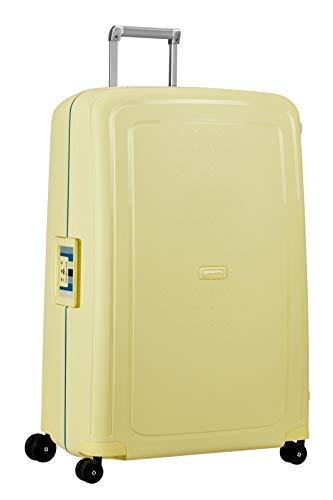 Samsonite S'Cure - Spinner XL Valise,81 cm,138 L,Jaune (Pastel Yellow Stripes)