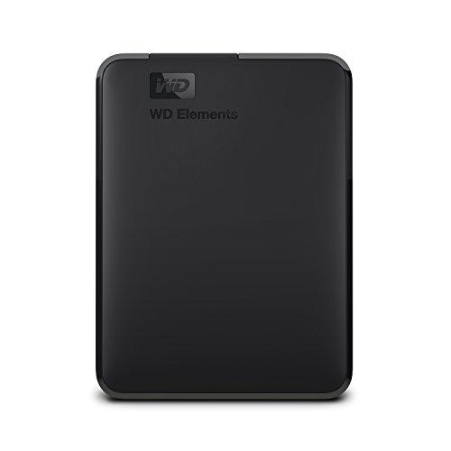 WD Elements Disque dur portable externe - USB 3.0 4TB noir